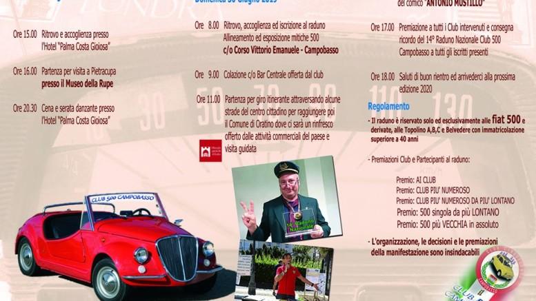 Calendario Raduni Fiat 500 2020.Raduno Fiat 500 Www Pinosomma It