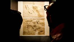 LEONARDO E VITRUVIO - mostra fano - sistema museo - ph© luigi angelucci - MUSEO PALAZZO MALATESTIANO - SALA MORGANTI - PAOLO CLINI - FRANCESCA BORGO