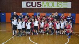 Il Cln Cus Molise con i bambini della scuola calcio