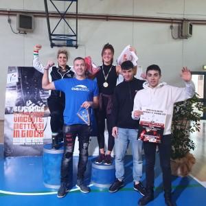 gli atleti del Cus Molise che hanno preso parte alla kermesse Umbra