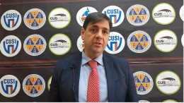 il presidente del Cus Maurizio Rivellino