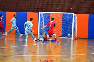 Il gol dell'1-2 realizzato da Turek