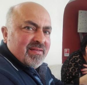 Pasquale Ciocca titolare dell'omonima ditta edile che ha donato una somma di denaro per l'acquisto di un ventilatore polmonare