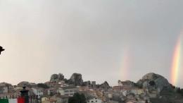 Pietrabbondante arcobaleno
