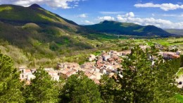 San Pietro Avellana - paesaggio 2019