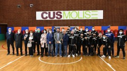 La squadra del Cln Cus Molise