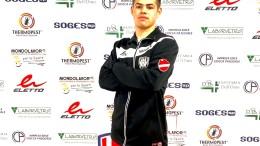 Il portiere Vinicius Diouf Oliveira